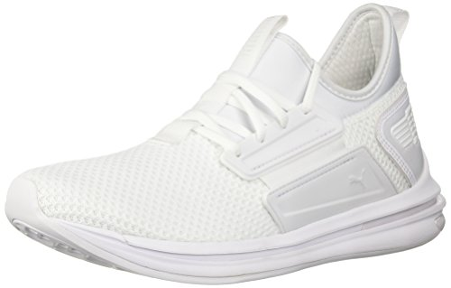 PUMA Men's Ignite Limitless SR Sneaker, White, 10 M US (Mens Slip On Shoes Puma)
