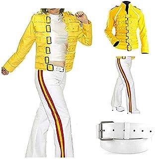 Spazeup Freddie Mercury Jacket Queen Concert Belted ...