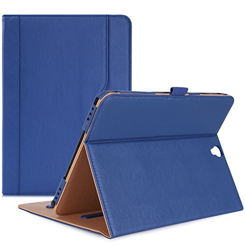 ProCase Samsung Galaxy Tab S3 9.7 Case, Stand Folio Case Cover for Galaxy Tab S3 Tablet ( 9.7 Inch, SM-T820 T825), with Multiple Viewing Angles, Document Card Pocket - Navy Blue