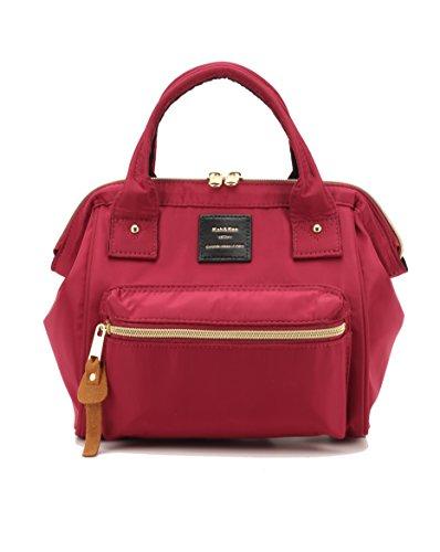 Bag Nylon amp;Kee Backpack 3 Handbag Kah Mini ways Wine Bags Shoulder 1w0HWqBn