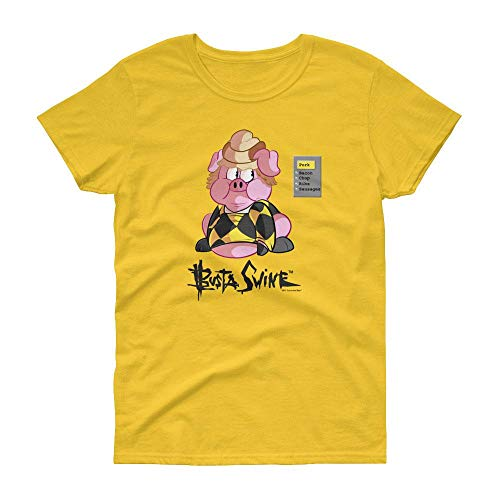 (Busta Swine What's The Cereal Women's T-Shirt - Daisy -)