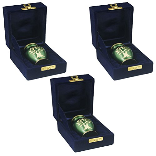 3 urns for human ashes - 3