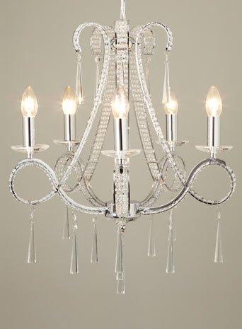 Bhs trinity 5 light chandelier amazon kitchen home bhs trinity 5 light chandelier aloadofball Images