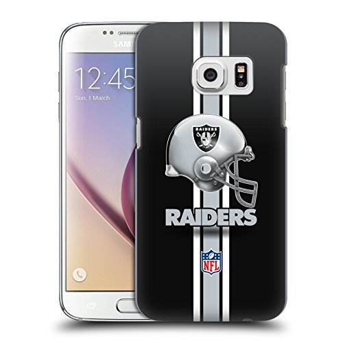 Oakland Raiders Logo Hard Back Case for Samsung Galaxy S7 (Oakland Raiders Logo Helmet)