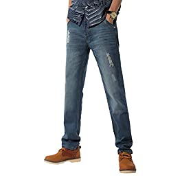 Demon&Hunter 802 Series Men's Straight Leg Regular Fit Jeans