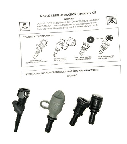 Adapter Mask - Camelbak Hydrolink Foliage Bite Valve quick release Type A & M Mask adapters