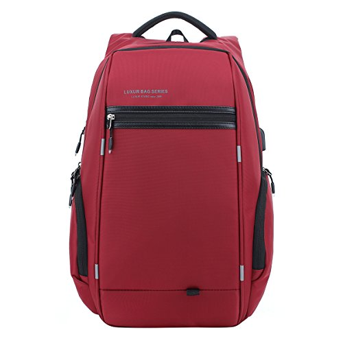 LUXUR-37L-Nylon-Waterproof-Laptop-Backpack-Casual-School-Business-Travel-Daypack