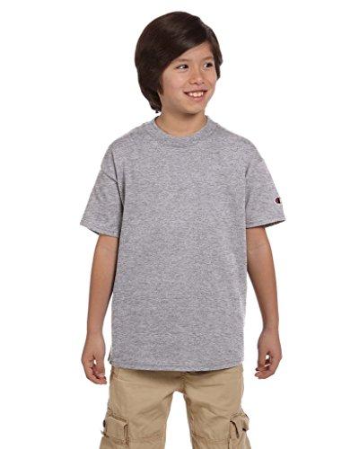 (Champion Youth 6.1 oz. Short-Sleeve T-Shirt)