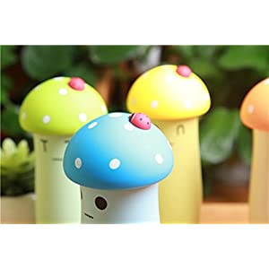 CFZC Super cute Mushroom Cartoon Stainless Steel Thermos Water Bottle for Kids Water Bottle thermos cup 9.0oz(blue)