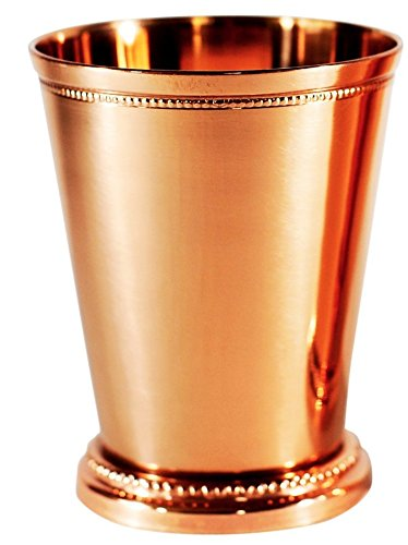 (Copper Moscow Mule Mint Julep Cup - 100% pure copper, beautifully handcrafted, 12 oz)