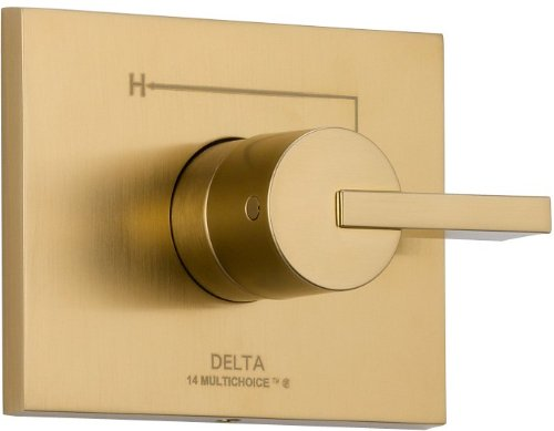 Delta Faucet T14053-CZ Vero Monitor 14 Series Valve Trim Only, Champagne Bronze