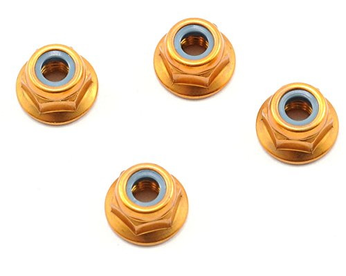 NUT(M4X4.5)FLANGED NYLON(ALUMI