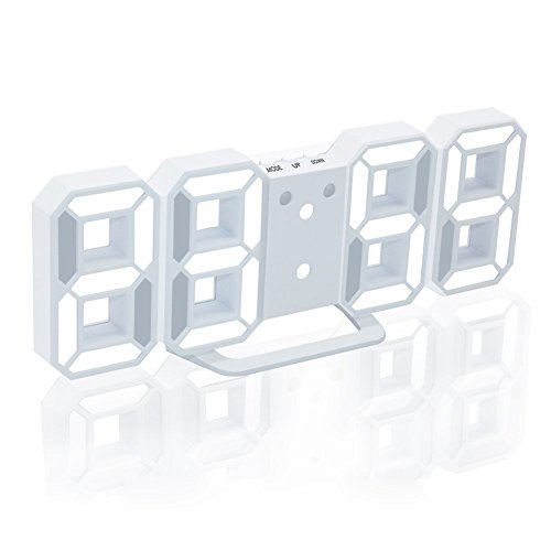 Wall Clock With Led Light - 3