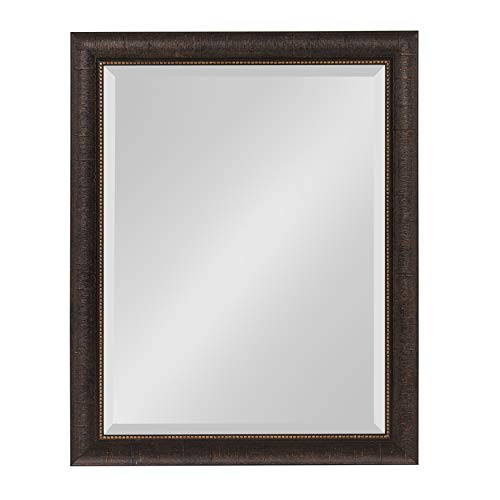 Kate and Laurel Aldridge Framed Wall Mirror, 22x28, - Bathroom Mirrors Decorative Transitional