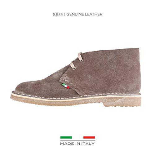 Italia Scarpe Marrone uomo Made in in Made stringate 4vv1af