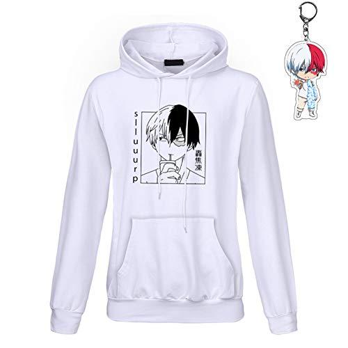 Draftor My Hero Academia Hoodie Meisjes Anime Cosplay Hooded Sweatshirt Vrouwen Trui Hoodies met Pocket Casual Japanse…