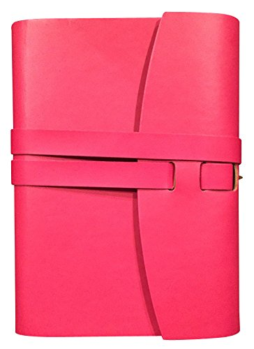 perfect-size-personal-bound-leather-journal-pu-pink-lined-pages