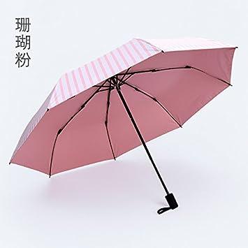 Patrón de bandas de moda paraguas plegable paraguas de viaje sombrilla,C
