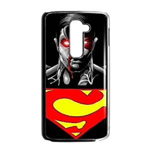 Superman LG G2 Cell Phone Case Black Bzryq