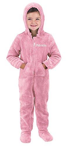 PajamaGram Toddlers Hoodie FootieTM Fleece Pajamas