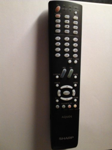 NEW Sharp Aquos LCD TV Remote Control GA535WJSA Supplied wit