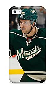 Hu Xiao Anti-scratch And Shatterproof Minnesota Wild Hockey Nhl cell phone case cover For Iphone 5c/ High Quality BsWUOJ8nLvc Tpu case cover