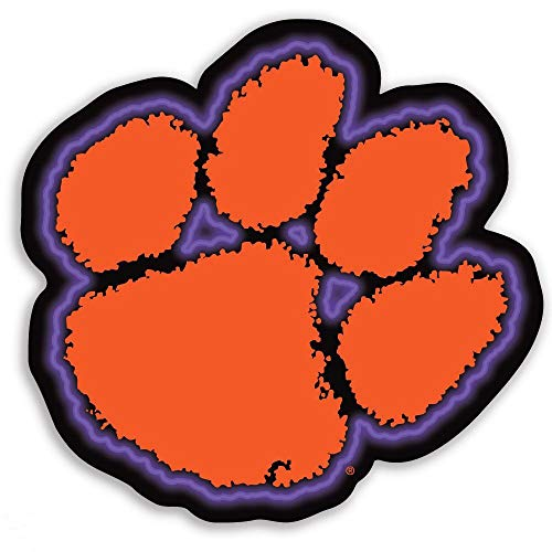 SDS Design Associates Clemson Tigers Premium Vinyl Decal (3