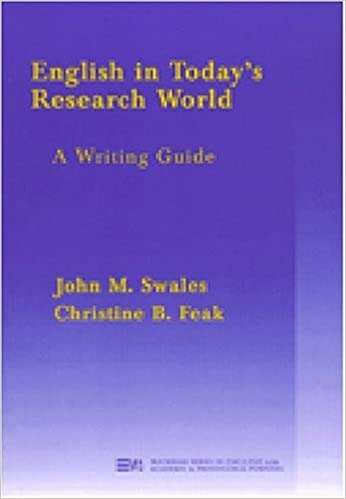 Amazon english in todays research world a writing guide english in todays research world a writing guide michigan series in english for academic professional purposes fandeluxe Gallery