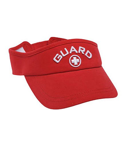 isor - White/Red (Lifeguard White Hat)
