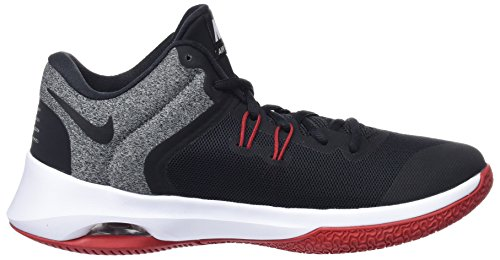 Negro Zapatos Versitile Red Hombre gym 002 White Air de Nike II Black para Baloncesto tq8W4wxgAp