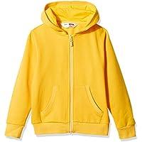 Kid Nation Kids' Brushed Fleece Zip-up Hooded Sweatshirt for Boys or Girls