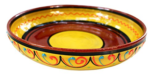 Terracotta Yellow, Serving Dish - Hand Painted From Spain by Cactus Canyon Ceramics