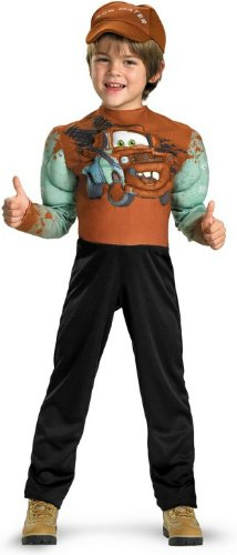 Tow Mater Classic Muscle Costume - Small (Tow Mater Halloween Costume)