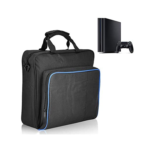 1Pcs PS4 Pro Carrying Case, VBESTLIFE Gaming Console Travel Storage Hand Shoulder Bag Playstation 4 Pro Protective Bag… 1