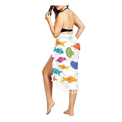 per 01 bagno da Z per Costume TTD bikini senza donna copricostume spalle F6w8xaqOP