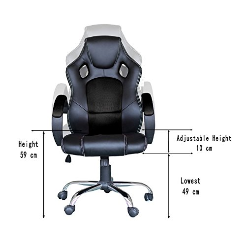 41m2QEB84wL - Computer-Video-Game-Chair-High-Back-Racing-Style-Chair-With-Lock-Caster-Lumbar-Support-Mesh-Back-and-Headrest