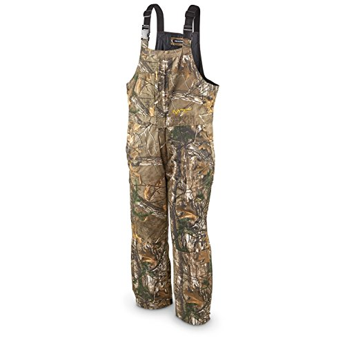 Realtree Men's Insulated Bib, Realtree Xtra (AX9), XXL