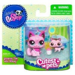 Littlest Pet Shop Cutest Pets Series 2 Figures Mommy Baby - Baby Mommy Shop Littlest And