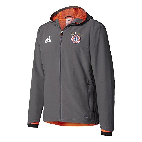 granito Bayern Fc Adidas Munich presentazione uomo Rojsol Giacca Grigio 4qWwPZ1