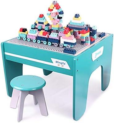 Juegos de mesas y sillas Mesa de Madera para niños de 1 a 6 años ...