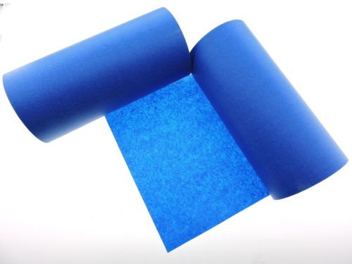 1 Roll 10'' inch WIDE 3D Printing Made In USA PRO Grade Blue Painters Tape Masking Clean Release Easy Removal NO RESIDUE (240MM x 55M 9.7 inch). 3D Printer bed grip deck cover 3D Prints Removal 60 Yd