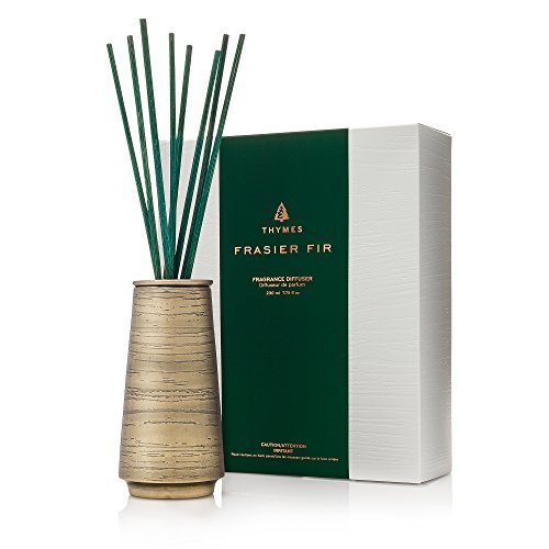 Thymes Frasier Fir - Joyeux Reed Diffuser Metal 7.75oz by Thymes