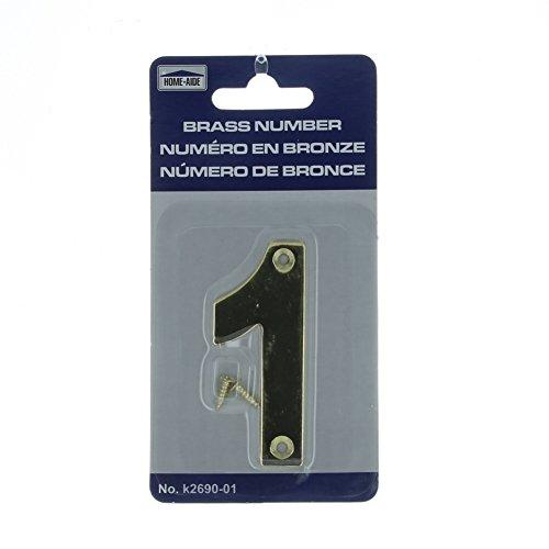3 inch door numbers - 6