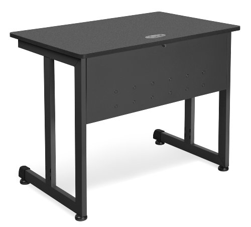 OFM 55139-GRPH Computer Table, 24 by 36-Inch, Graphite by OFM