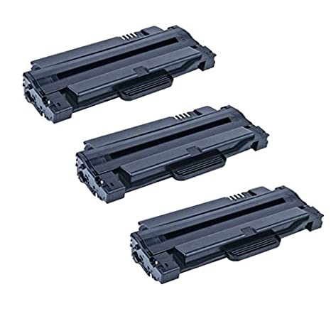 3 Pack Dell 330-9523 (7H53W) High Yield Black Toner Cartridges for your  Dell 1130/1135 Laser Printer- 2,500 Pages