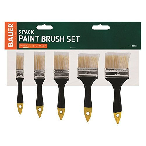 Stalwart F-22428 Paint Brush Set (Pack of 5)