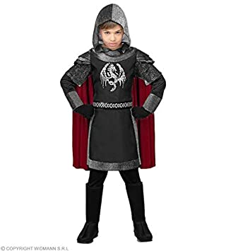 WIDMANN Disfraz de Caballero Medieval Oscuro Infantil S-(5/7 ...