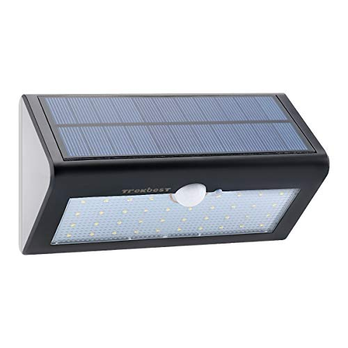 Trekbest Solar Motion Light – 38 LED Waterproof Wireless Solar Powered Wall Light with 4 Intelligent Modes, Dusk/Dawn Auto On/Off for Yard Patio Deck Driveway Review