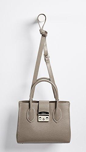 Metropolis hand Furla bag brown small Sq4SXwd