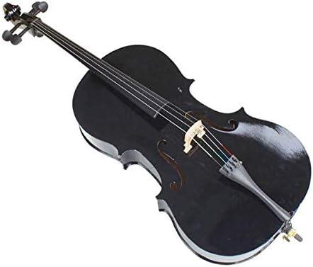 Violins 4//4 Wood Cello Bag Bow Rosin Bridge Black